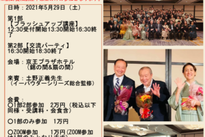 2021haruparty 300x200 - 【2021春のブラッシュアップ講座&大会&パーティ-】